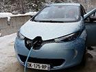 Polnilnica električnih vozil (Renault Zoe)
